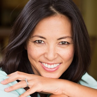 Beautiful white smile created by Shelby Township Cosmetic Dentistry